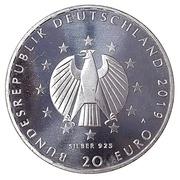 20 euros Constitution de Weimar – avers