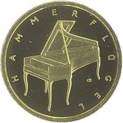 50 euros Piano -  revers