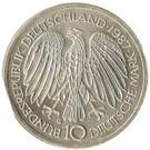 10 deutsche mark Traité de Rome – avers
