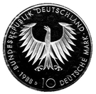 10 deutsche mark Arthur Schopenhauer – avers