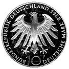 10 deutsche mark Carl Zeiss – avers