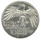 10 deutsche mark Stade Olympique de Münich – avers