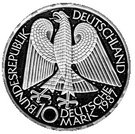 10 deutsche mark 750 ans de la ville de Berlin – avers