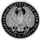 10 deutsche mark 40 ans R.F.A. – avers