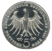 5 deutsche mark - Felix Mendelssohn-Bartholdy -  avers