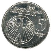 5 deutsche mark Année européenne de la musique – avers