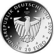 20 euros Fribourg-en-Brisgau – avers