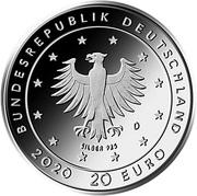 20 euros Le Loup et les Sept Chevreaux – avers
