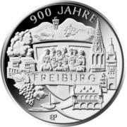 20 euros Fribourg-en-Brisgau – revers