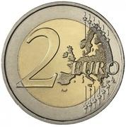2 euros Brandebourg – revers