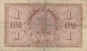 1 Deutsche Mark – revers