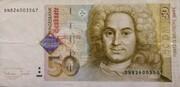 50 Deutsche Mark – avers
