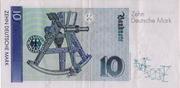10 Deutsche Mark – revers