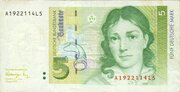 5 Deutsche Mark – avers