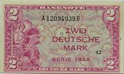 2 Deutsche Mark – avers