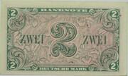 2 Deutsche Mark – revers