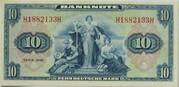 10 Deutsche Mark – avers