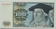 100 Deutsche Mark – avers
