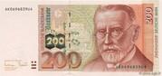 200 Deutsche Mark – avers