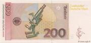 200 Deutsche Mark – revers