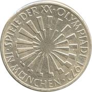 10 deutsche mark JO de Munich -  revers