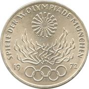 10 deutsche mark JO de Munich (Flamme) -  revers