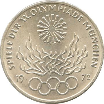 10 deutsche mark coin 1972