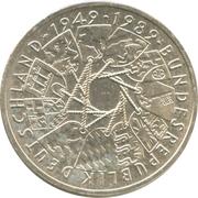 10 deutsche mark 40 ans R.F.A. -  avers