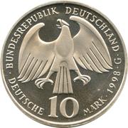 10 deutsche mark Paix de Westphalia – avers