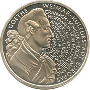 10 deutsche mark (Weimar - capitale culturelle de l'Europe) – revers