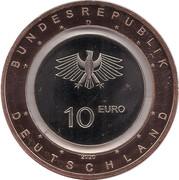 10 euros L'air sur Terre -  avers