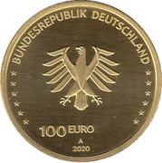 100 euros Einigheit -  avers