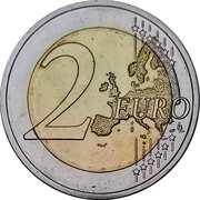 2 euros Genuflexion de Varsovie -  revers