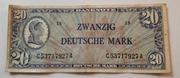 20 Deutsche Mark – avers