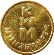 Jeton - KWM Münzprüfer (22 mm) -  revers
