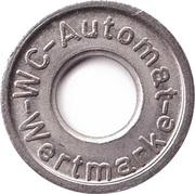 Token - WC - Automat (type2) – avers