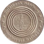 Jeton de jeu - Spielbank Hamburg (Hamburger Rathaus) – avers