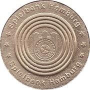 Jeton de jeu - Spielbank Hamburg (Hamburger Rathaus) – revers