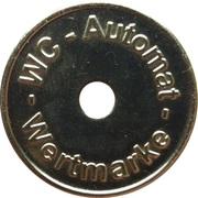 Token - WC Automat Wertmarke (type 5) – avers
