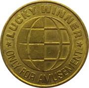 Game Token - Lucky Winner (Weiterspiel-Marke) – revers