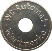 Token - WC Automat Wertmarke (type 6) – avers