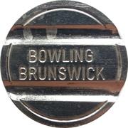 Jeton - Bowling Brunswick – avers