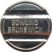 Jeton - Bowling Brunswick – revers