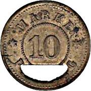 10 pfennig (Schwäbisch Gmünd - Consumverein) – revers
