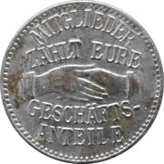 5 pfennig (Arzberg - Konsum-Verein) – avers