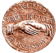 10 pfennig (Arzberg - Konsum-Verein) – avers