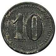 10 pfennig (Altenfeld - Consumverein) – revers