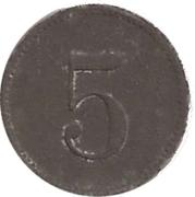 5 pfennig (Berlin - Konsum Genossenschaft) – revers