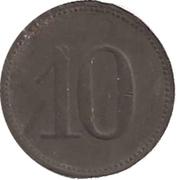 10 pfennig (Berlin - Konsum Genossenschaft) – revers