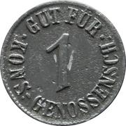1 Pfennig (Berlin - Konsum Genossenschaft) – avers